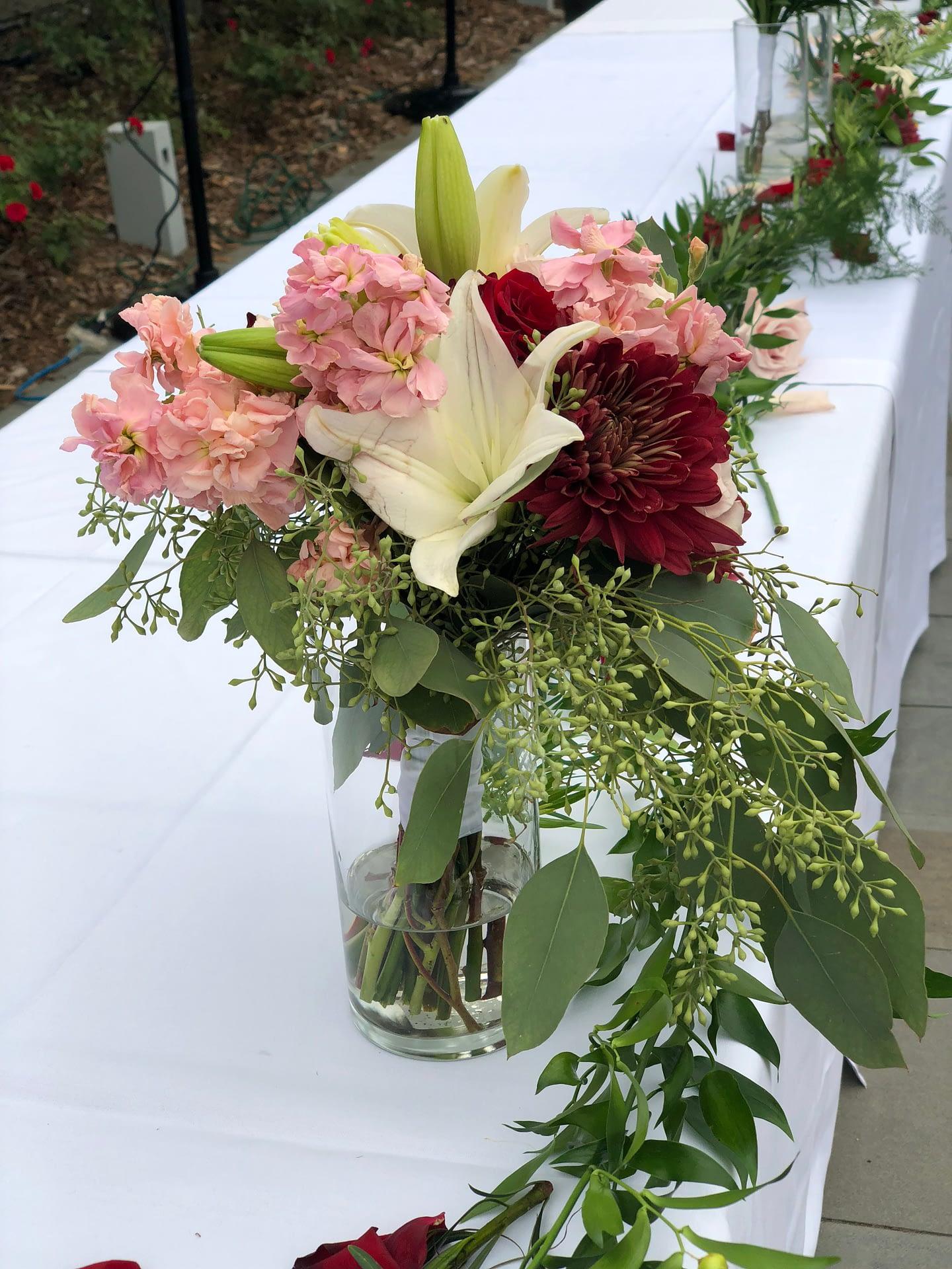 american swedish institute minneapolis wedding reception floral decor