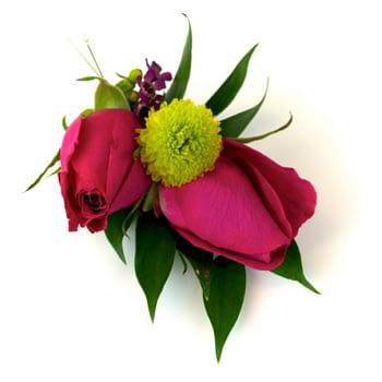wedding-boutonniere-minneapolis-st-paul-pink-purple
