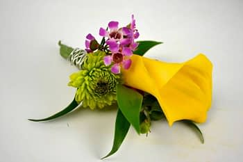 boutonnieres-corsages-yellow-wedding