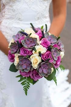 Chelsea Reeck Photography wedding flowers brides bouquet stonebrook minnesota bride flowers for weddings succulents
