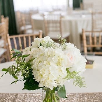 wedding centerpiece minnesota stunning hydrangea