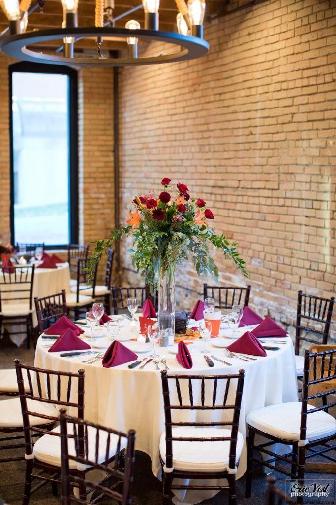 minneapolis event center autumn wedding reception ideas