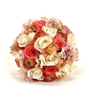 Wedding Bridal bouquet Minneapolis Minnesota roses