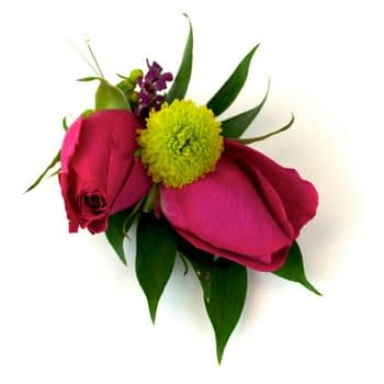 wedding-boutonniere-minneapolis-st-paul-pink-purple