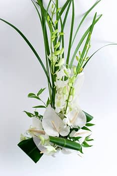 wedding centerpiece florist minnesota white spring